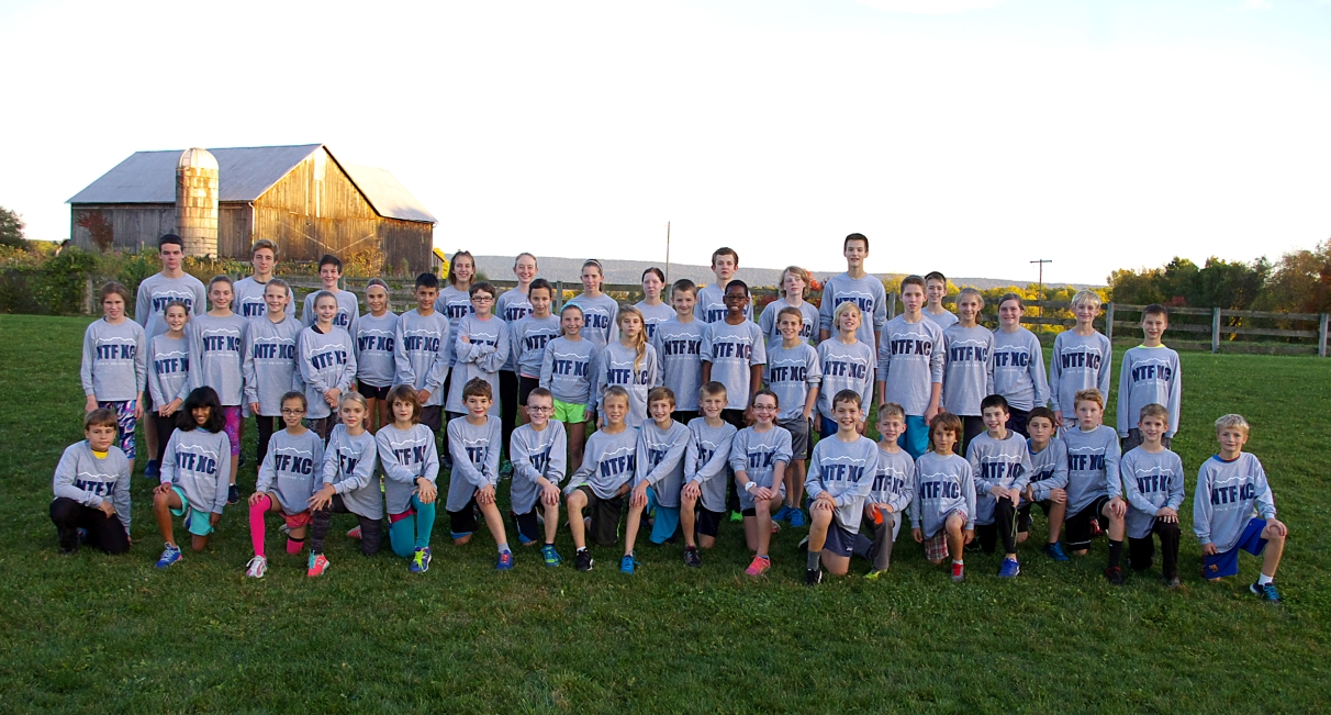 NTF cross country team - Fall 2016