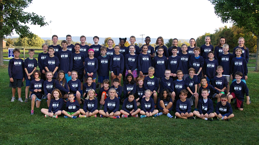 Fall 2017 NTF Cross Country TEam