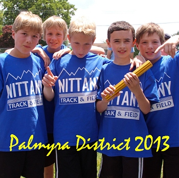 Pictures from Palmyra District II Meet 2013